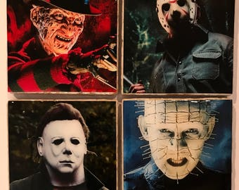 Icons of Horror Coasters