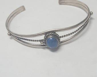 Vintage Sterling Silver 925 cuff bracelet
