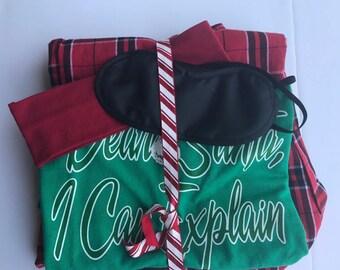 I Can Explain Christmas Pajama Set