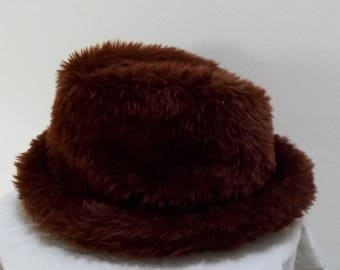 "Hat faux fur ""Wheels"""