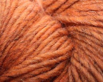 Weaving Southwest Rio Grande Rug Wool, color Pumpkin, 12 ounces, 318 yards