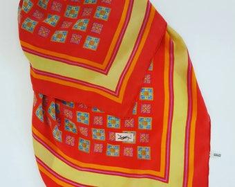 Yves Saint Laurent vintage scarf