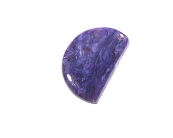 37Cts Charoite Gemstones Fancy Cabochon Calibrated Size Gems Top AAA Quality Natural Charoite Gemstone For Jewelry Making 34X23X4.5mm