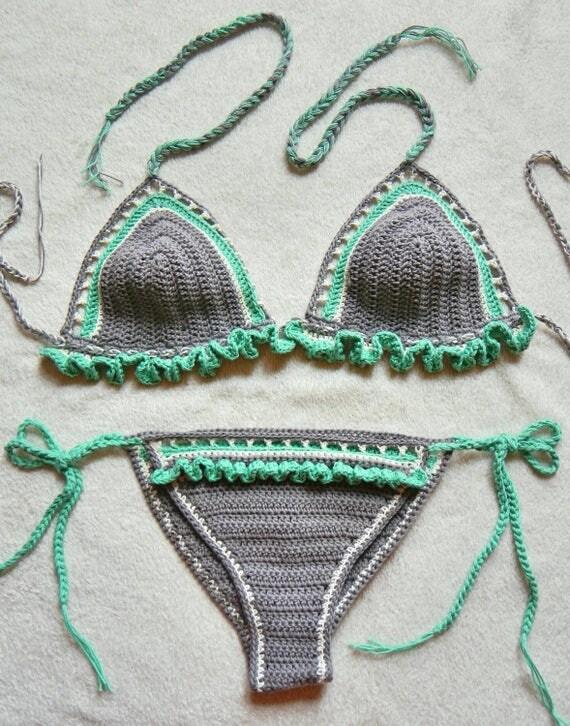 Flutter Crochet Bikini Set