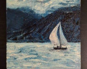 Cully sailboat mini