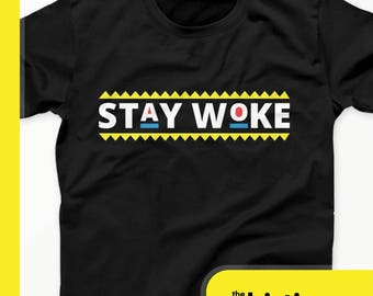 Damn Gina Stay Woke T-Shirt - Do It For The Culture Tees - Black History Month Shirt - Black Panther Shirt