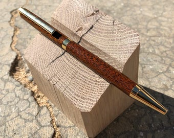 Handmade Pen/Wood Pen/IPE wood pen/Wedding Anniversary gift/Wood Pen/Retirement gift/Mothers Day