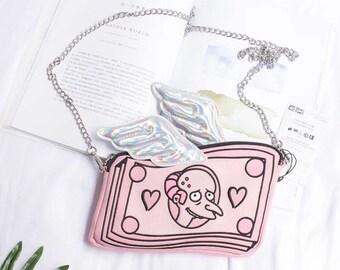 Funny Bag Simpsons Bag Pink Wings Bag