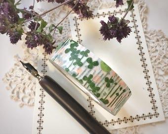 Classiky Masking Tape Little Garden Green