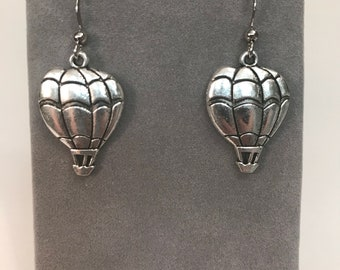 Hot Air Balloon Charm Earrings