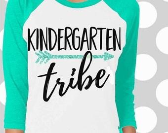 Teacher tribe svg, Kindergarten teacher shirt, Teacher Team shirt, teacher svg, Kindergarten teacher svg, teacher quote, svgs , SVG, DXF