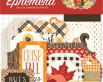 Carta Bella - Hello Fall  Ephemera - Tags and frames
