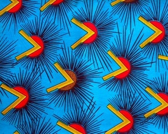 WAX - cotton African fabric