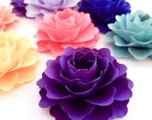 "3"" Paper Flowers (Custom Colors) 