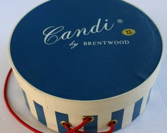 1950's Vintage Candi by Brentwood Wiglet Wig Box