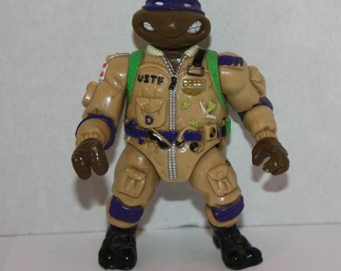Teenage Mutant Ninja Turtles TMNT Pro Pilot Don Action Figure 1991 Playmate
