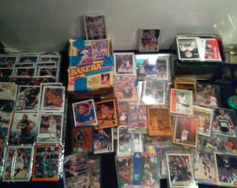 Vintage Sports Cards Big Lot Early 80's to Early 90's Rookies UNPICKED   **1980's-1990's****