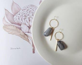 Jelly beads earrings