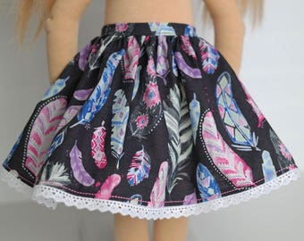 Feather DOLL skirt