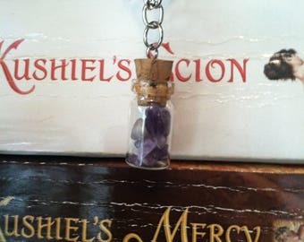 Amethyst Bottle Choker