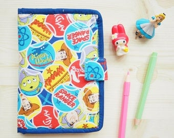 Toy Story  fabric Passport Holder / wallet