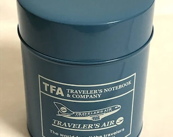 Traveler's Factory Original coffee can ,Pen Stand Mint Condition Traveler's Notebook Designphil from Japan