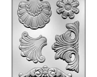Baroque Designs #1 Chocolate Candy Mold 9470