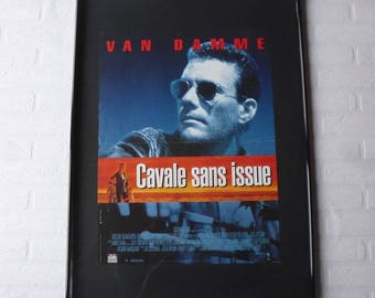 1993 Cavale sans issue JC Van Damme original movie poster