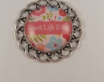 "JW magnetic brooch, ""Best Life Ever"", Jw gifts, jw items, jw accessories, pioneer gift."