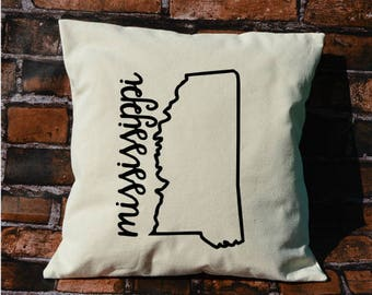 Mississippi pillow, pillow gift, Mississippi gift, decorative pillows, pillow cover, Mississippi, throw pillows, MS pillow, envelope pillow