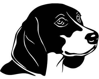 Beagle dog svg | Etsy
