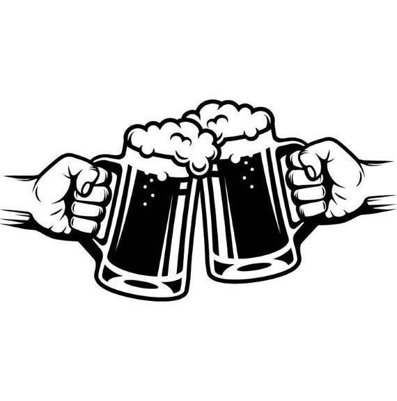 Beer Logo 5 Mug Glass Pub Bar Tavern Bartender Brew Brewery