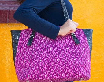 Hetty Hold All pattern, by Sassafras Lane Designs, bag pattern, sassln0058