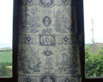 Curtain Panel Diane Huntress 100% cotton