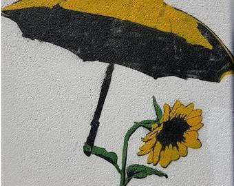 Sunflower Brolly