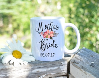 Mother of the bride gift,Mother of the bride,Mother of the bride mug,Custom mug,Wedding Gift,Wedding Favor,Wedding Mug,Mug for mom,wedding