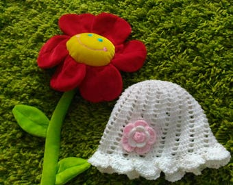 Knitted hat for Kids Kid's hat Crochet Panama hat