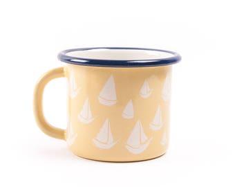 BiggDesignAnemoSS Orsa Enamel Mug - Yellow