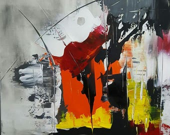 PAINTING ABSTRACT PAINTING