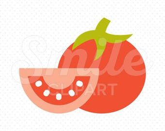 TOMATO Clipart Illustration for Commercial Use | 0087