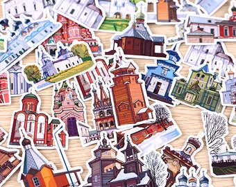 34 Pieces of Dream City Stickers - Journal/Planner/Scrapbooking