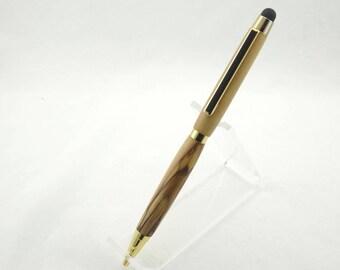 Wood Pen, Wooden Pen, Stylus, Bethlehem Olive Wood Pen, Pen Case, Gift Box, Easter Gift, Wife Gift, Husband Gift, Gift for Mom, Gift for Dad