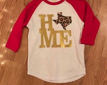 Texas Home Tee - Kid's