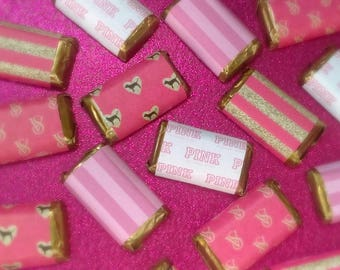 Victoria's Secret Inspired Miniature Candy Bar Wrappers