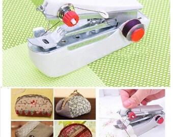 Mini sewing machine manual 11x7x4cm Red
