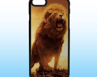 Lion Art Custom Iphone Case, Iphone 5, 6, 7, 8, X