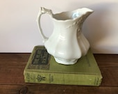 Vintage Ironstone China Johnson Bros England Creamer