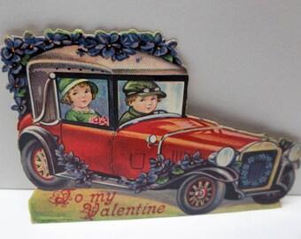 Vintage Automobile Valentine Germany