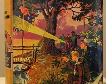 The Hardy Boys - The Sinister Signpost by Franklin W Dixon Circa 1943 printing