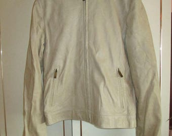Mulberry leather bomber jacket